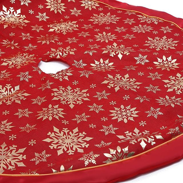 1 Piece Christmas Tree Skirt 120cm Carpet Merry Christmas Decorations For Family Natal Tree Skirt New Year Decoration Navidad 2