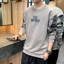 2020 new comfortable male qiu dong men sets round collar handsome inside take men's clothing of cultivate one's morality