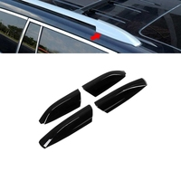 4Pcs Roof Rack Cover Roof Rail End Cover Housing Replacement for Toyota Highlander 2008 2013