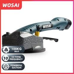 WOSAI, instalación de baldosas inalámbrica, baldosa inteligente portátil, máquina de vibración de azulejo para suelo y pared, azulejo para pared de ladrillo, herramienta