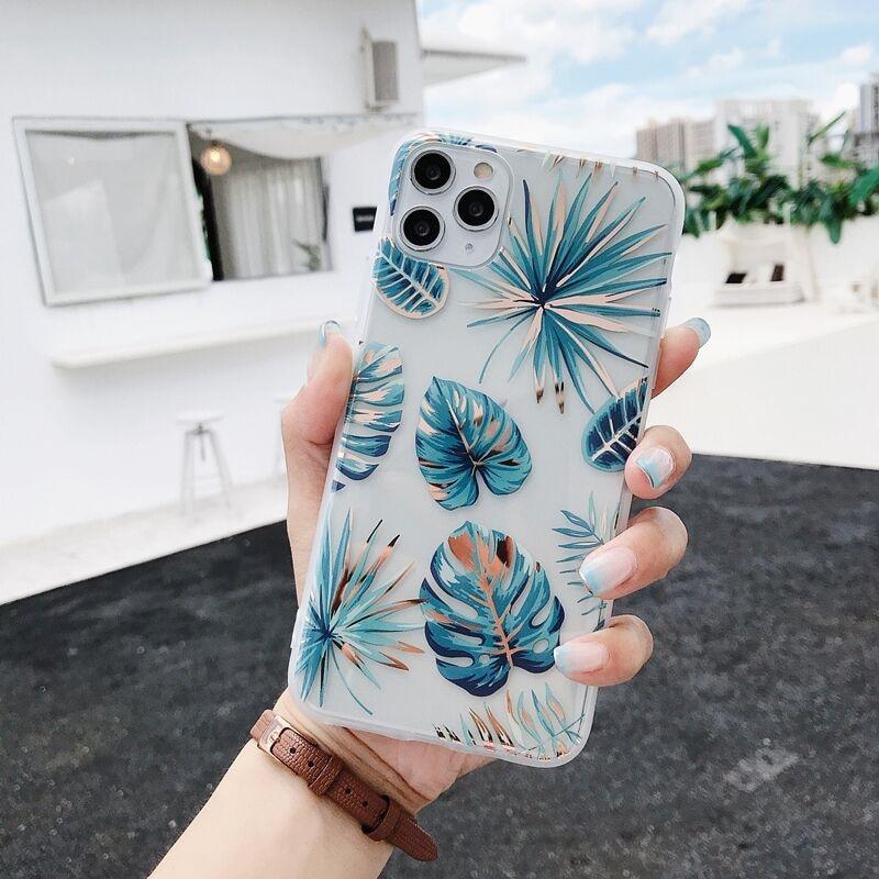 Роскошный прозрачный чехол для iphone 11 12 Mini Pro X XR XS MAX 8 7 plus SE 2020, мягкая задняя крышка IMD|Специальные чехлы| | АлиЭкспресс