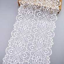 Sewing Lace Ribbon Trim Wedding-Dress Elastic French African Clothing Nigerian 5yard/Lot