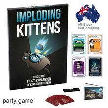 Настольная игра интересная веселая Вечерние игры с детализацией котенка