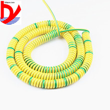 1-core spring spiral wire and cable 18AWG 15AWG 13AWG 11AWG 9AWG 8AWG 1 m 2 m 3 m yellow-green power cord extendable wire wire world silver electra 7 power cord 1 5m page 3