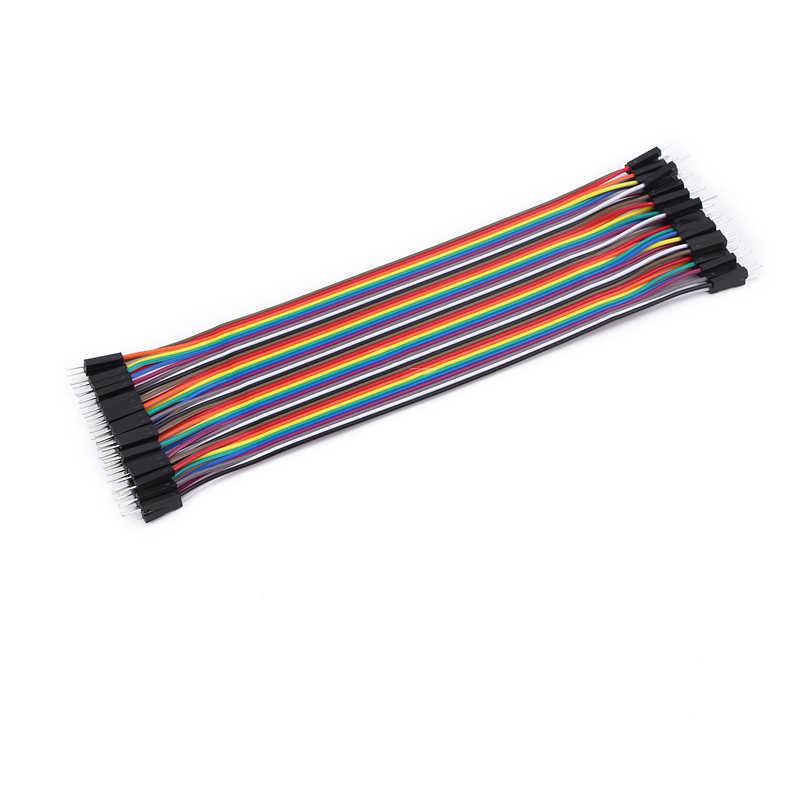 40PCS DuPont line แม่แม่และพ่อแม่สาธารณะ 40P สีสายแถว 40 10/20/30 ซม.2.54 มม.
