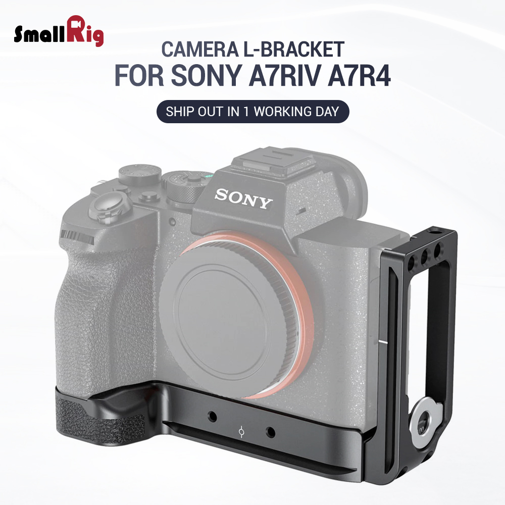 SmallRig A7R4  Camera L Plate L-Bracket For Sony A7R IV W/ Arca Compatible Base Plate & Side Plate 2417