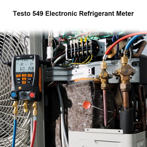 Image 2 - Manifold Digital Mastercool Testo 549 Digital Manifold HVAC Gauge System Kit R410a R410 Refrigeration And Air Conditioning Tools