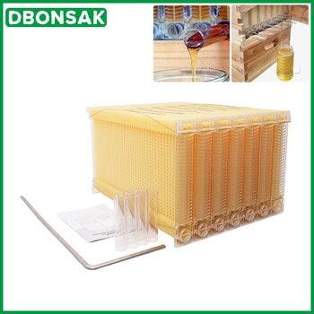 Automatic Honey Collection Nest Frame Beekeeper Beehive Food-grade Plastic Honeycomb Block Bee Spleen Box Beekeeping Tools
