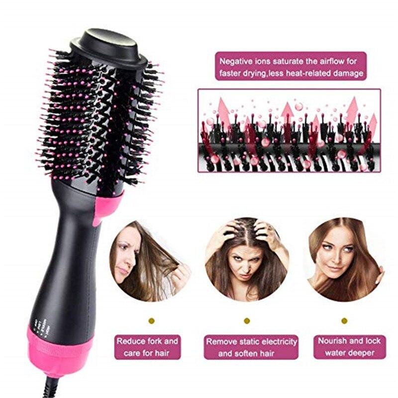 em 1, para secar cabelo e modelar,