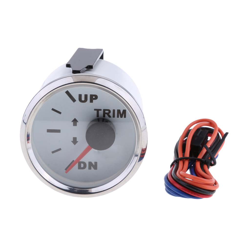 2' 52mm UP-DN Electric Trim Level Gauge For Marine Boat
