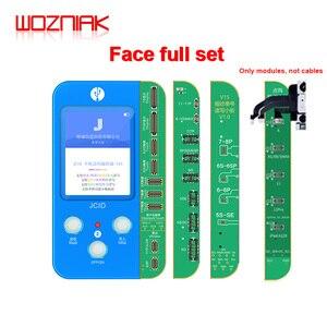 Image 1 - Jc V1S iphone 7 8 8p × 感光オリジナルカラータッチ衝撃バッテリー指紋snプログラマドットマトリックスx 11プロマックス