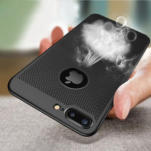 Luxury Ultra Slim Phone Case For iPhone 6 6S 7 8 Plus Grid Heat Dissipation Matte Hard Cover For iPhone X XS MAX XR 5 5S SE Case kwen yy 1 ultra slim matte plastic back case for iphone 5 5s light golden