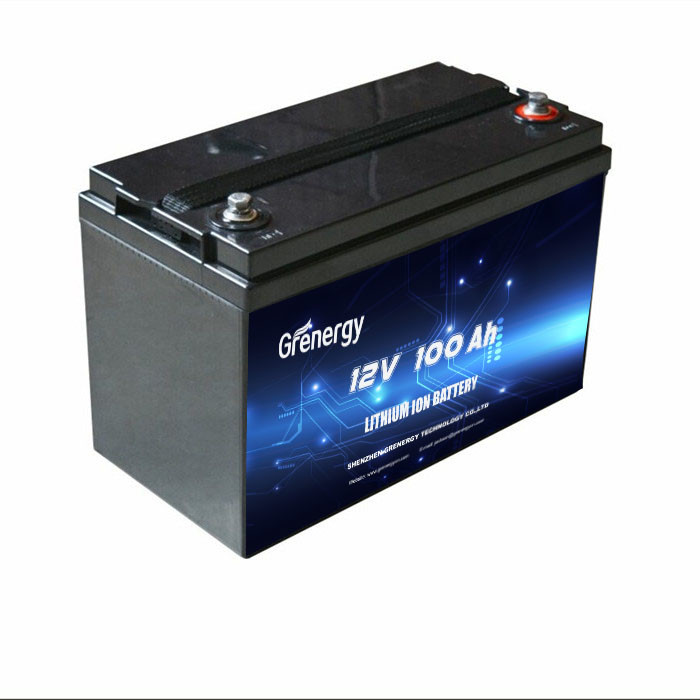 Lead Acid Battery Replacement  Battery 12V 100Ah For Golf Car
