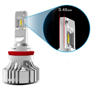 Image 2 - 72W 12000LM F2 H4 H7 H8 H11 h13 Car LED Headlights Bulb Fog Light F2 H7 H11 H8 9005 9006 H1 880 Car LED Headlamp Kit