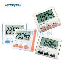Многофункциональный цифровой кухонный таймер, часы-будильник для домашнего приготовления практичные принадлежности для приготовления пищи инструменты с магнитом и подставкой 4 цвета