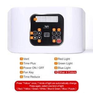 Image 3 - 7色led光子光治療機pdtフェイスledマスクそばかすにきび除去明るく光デバイス