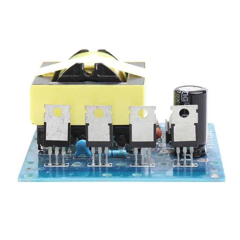 500W Inverter Boost Board Transformator Power DC 12 V/24 v zu AC 220V 380V Auto konverter Blau 8*7,5 CM