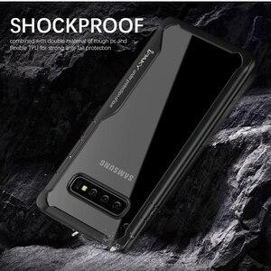 Image 5 - 삼성 S8 S9 S10 플러스 참고 10에 대 한 IPAKY 삼성 Note 10 플러스 케이스에 대 한 슈퍼 Shockproof 투명 실리콘 아크릴 커버 케이스