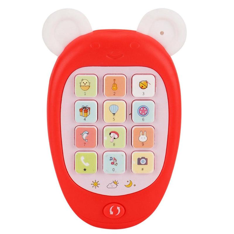 Baby Mini Electronic Mobile Phone Toy Kids Simulation Calling Music Toys