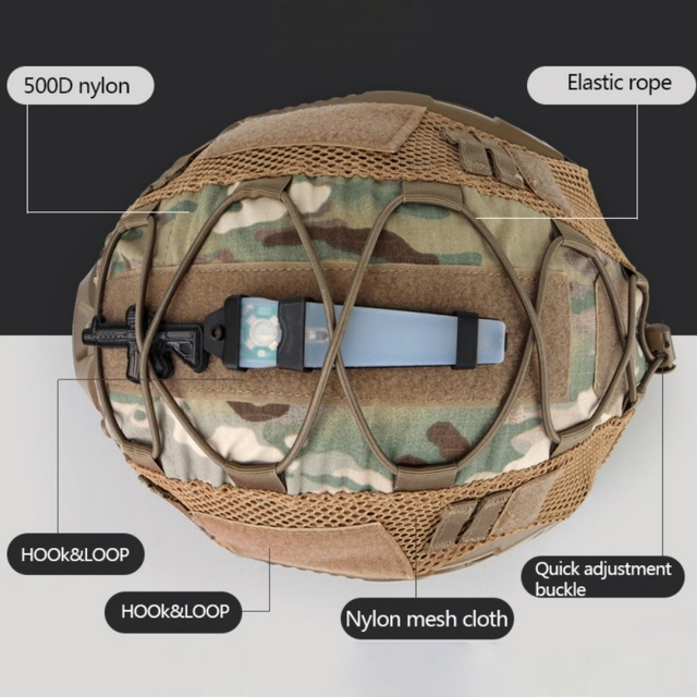 Airsoft Hunting (Tactical Military Combat) Helmet Cover CS Wargame Sport Helmet Cover For Ops-Core PJ/BJ/MH Type Fast Helmet new 2