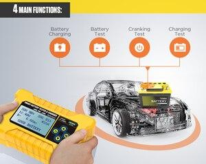 Image 5 - NEW Original AUTOOL BT380 12V CCA2400 Car Battery Tester Battery Charger Tester Analyzer 220V 110V Vehicle Power Bank