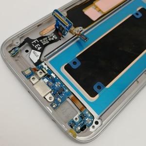 Image 3 - ЖК дисплей с рамкой, AMOLED экран 5,5 дюйма для SAMSUNG s7 edge, Pantalla G935F G935FD G935W8 G9350 G935K G935V