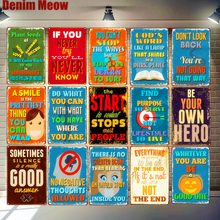 If You Never Try Youll Know Metal Art Posters Funny Word Vintage Tin Signs Bar Pub Home Wall Decor Aphorisms Plaque MN133
