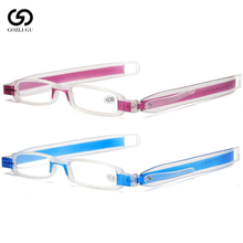 New 360 degree rotating folding male and female reading glasses 1.0 1.5 2.0 2.5 3.0 3.5 4.0