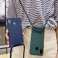 Cover a tracolla per Samsung Galaxy J7 2015 J5 J3 Pro A5 2017 J7 2016 J730 J530 J330 J710 custodia collana cordino corda catena Fundas