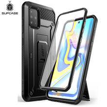 For Samsung Galaxy A51 Case (Not Fit A50 & A51 5G) SUPCASE UB Pro Full-Body Rugged Holster Case with Built-in Screen Protector(China)