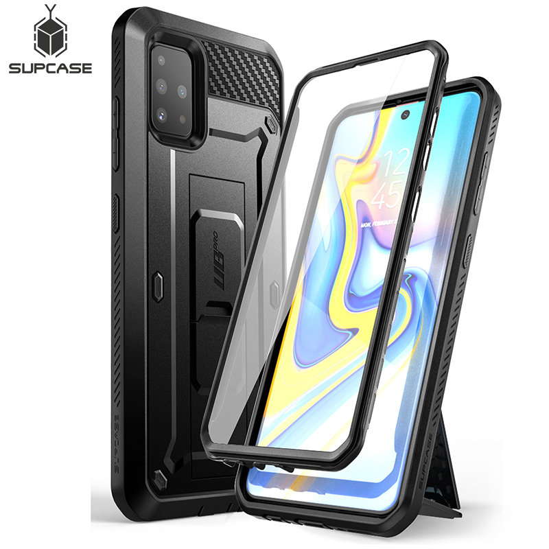 For Samsung Galaxy A51 Case (Not Fit A50) SUPCASE UB Pro Full-Body Rugged Holster Case With Built-in Screen Protector&Kickstand