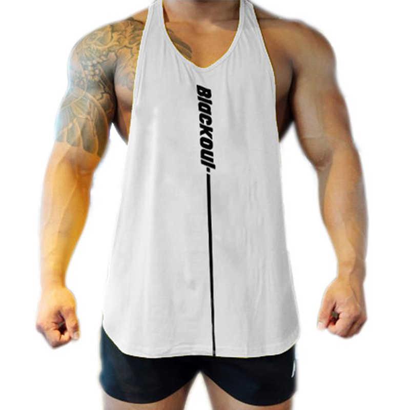 Mens Bodybuilding Tank Top Gym Fitness Singlet Sleeveless Muscle Vest Undershirt