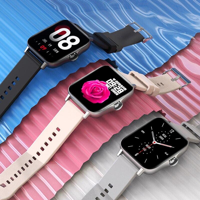 For Xiaomi Apple Phone IOS Reloj Inteligente Hombre Smartwatch 2021 Men Bluetooth Call Smart Watch Man Woman Full Touch IP68