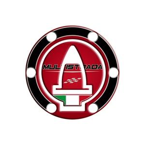Image 2 - Motorcycle 3D Gel fuel oil Tank Pad Protector Sticker Fish Bone Sticker for DUCATI Multistrada 1200 1260 ENDURO decorative decal