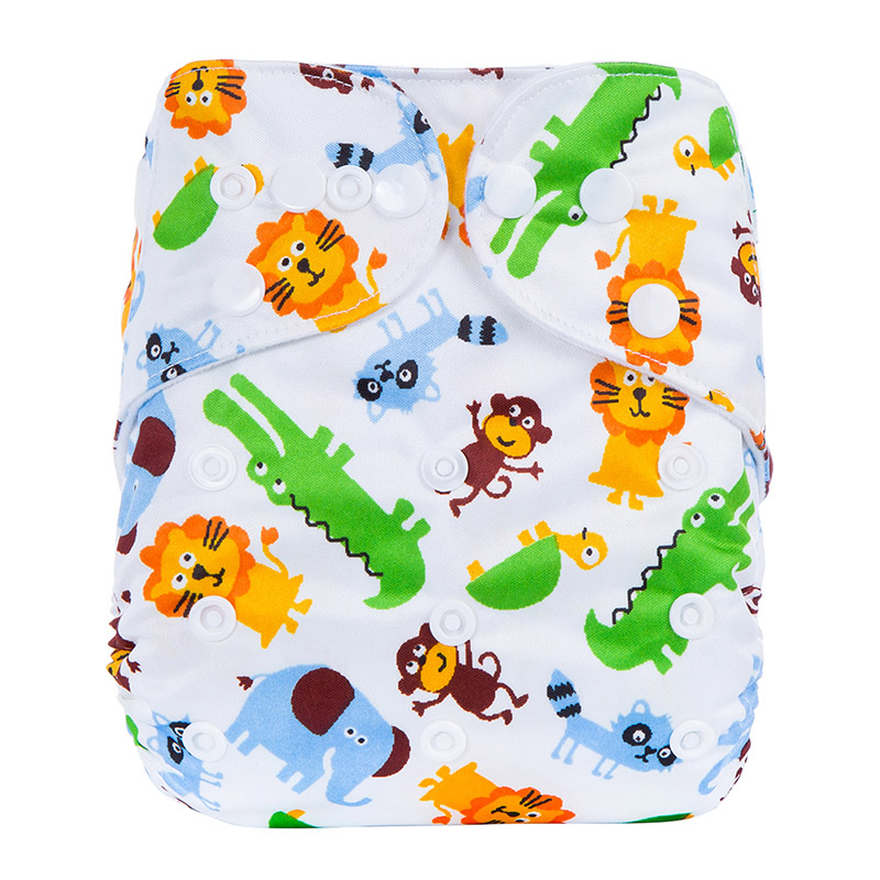 Organic Cloth Diaper China Hot Sale Custom Printed Baby Boy Diaper Teen Terry Baby Cotton Cloth Diapers L14