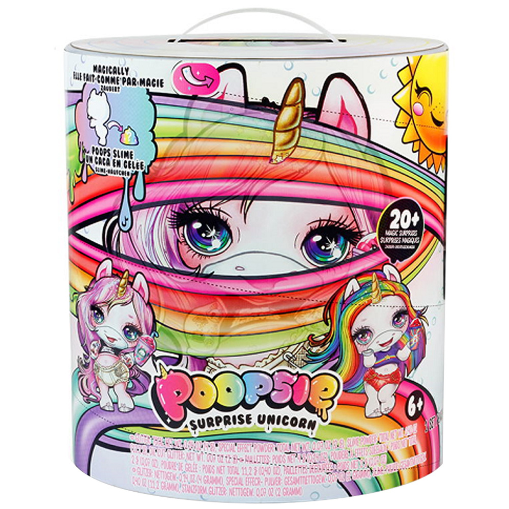 Toy Unicorn Surprise Poopsie Slime Relieve-Stress Squishy Large-Size 31cm title=