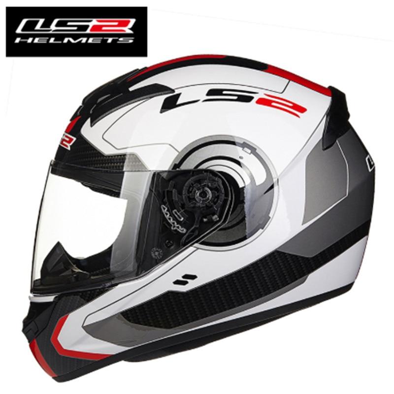 Image 2 - Новое поступление LS2 FF352 мотоциклетный шлем модный дизайн Полный лица гоночные шлемы ECE DOT утвержден Capacete шлем Moto-in Шлемы from Автомобили и мотоциклы