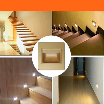 85-265V 0.6W LED Wall Lamp Footlights Porch Lights Stair Lights image