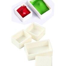 Paint-Grids Watercolor-Subpackage-Box Empty Pigment-Paint Block/case/Box 6/12/24-/..
