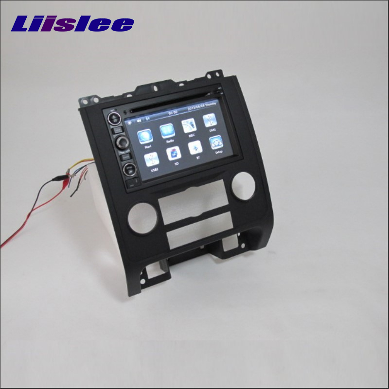 Liislee For <font><b>Ford</b></font> <font><b>Escape</b></font> 2008~2013 Radio CD DVD Stereo Player <font><b>GPS</b></font> Nav Map Navigation System Double Din Car Audio Installation Set image