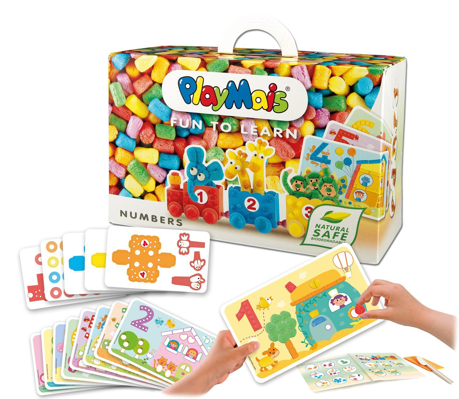Germany Playmais Magic Handmade DIY Corn Grains Parent And Child Kindergarten For Making Material Children'S Educational Toy