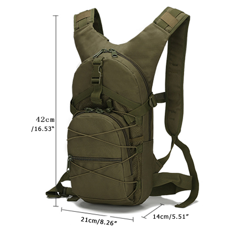 15L Military Military HikingTactical Backpack Oxford Bicycle Bags Climbing Bags Camping Army Outdoor Sports Bags