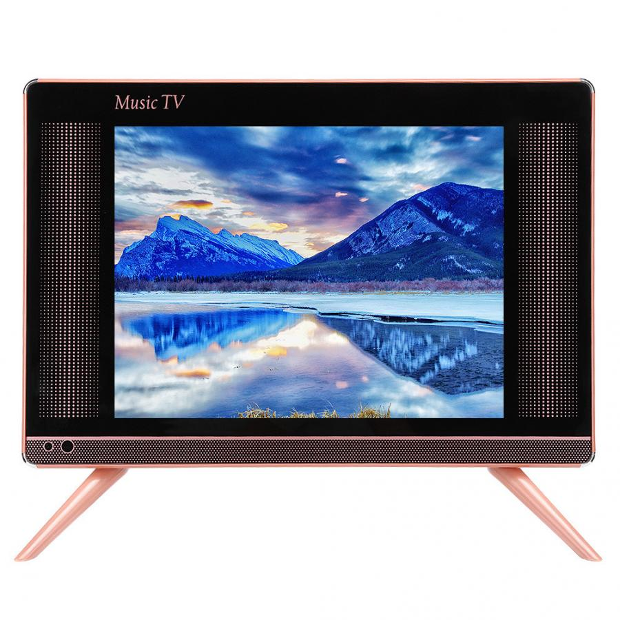 LCD TV Television 17inch Mini DVB-T2 HDMI VGA With Bass Sound-Quality 110-240v/support