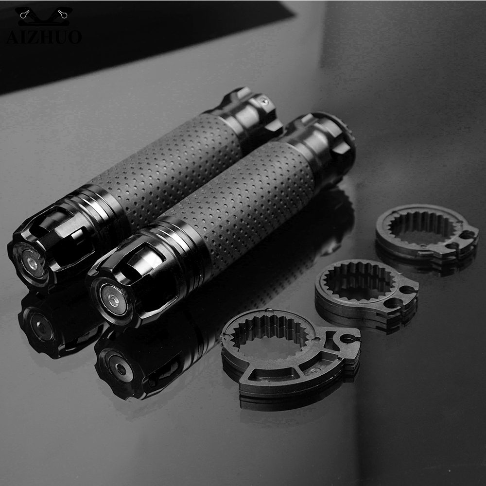 CNC Motorcycle Accessories Handle Grips Handlebar Hand Bar Grip For Kawasaki YAMAHA YZF R25 R15 R6 R125 Z750 FZ8 FZ1 FZ6R