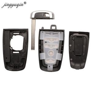 Image 5 - jingyuqin Car Key Case For Ford Ranger Fusion Mustang Raptor Explorer F 150 F250 F 350 4/5BTN Remote Key Cover Fob Shell Housing