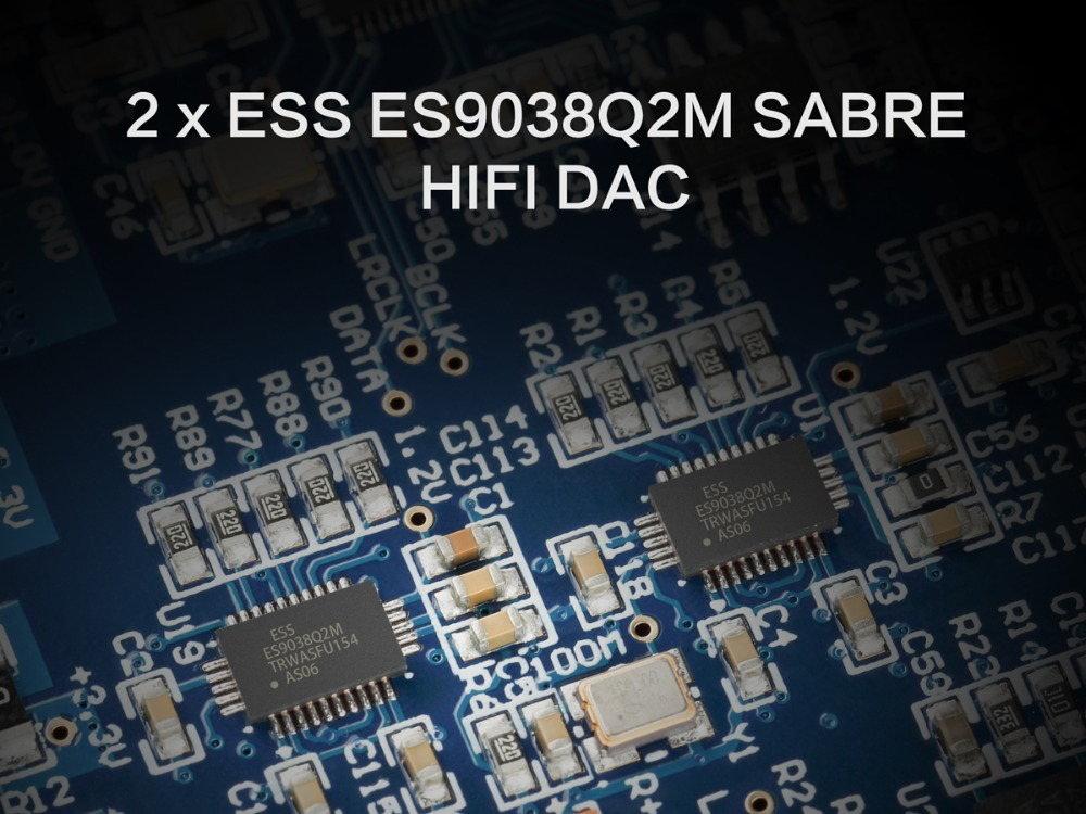 TOPPING D50S Bluetooth 5.0 ES9038Q2M AUDIO Decoding USB DAC-05