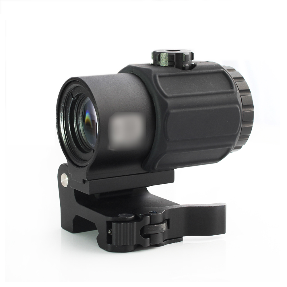 Tactical G43 Scope 3X Magnifier Scope Sight With Switch To Side STS Quick Detachable QD Mount For Hunting Rifle Gun