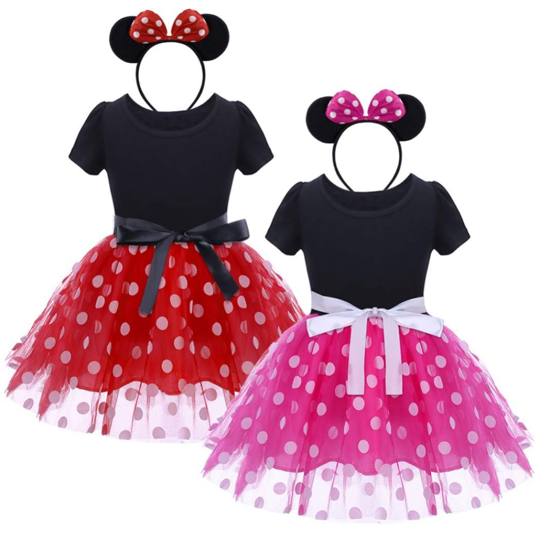 Hdb8921a687d042b4b569b9616e465006h - Fancy Baby Girl Princess Clothes Kid Jasmine Rapunzel Aurora Belle Ariel Cosplay Costume Child Elsa Anna Elena Sofia Party Dress