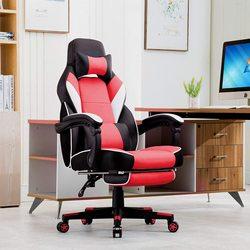 Silla de Juego Silla de Ejecutivo Computadora Gaming con Respaldo Alto Ergonómica de Juego Silla Giratoria Chair