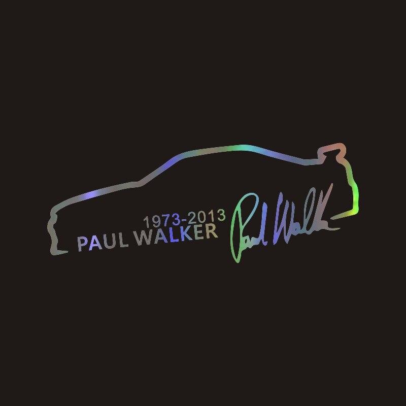 Paul Walker Tribute Fast /& Furious Keyring or Fridge Magnet #1= ideal gift idea
